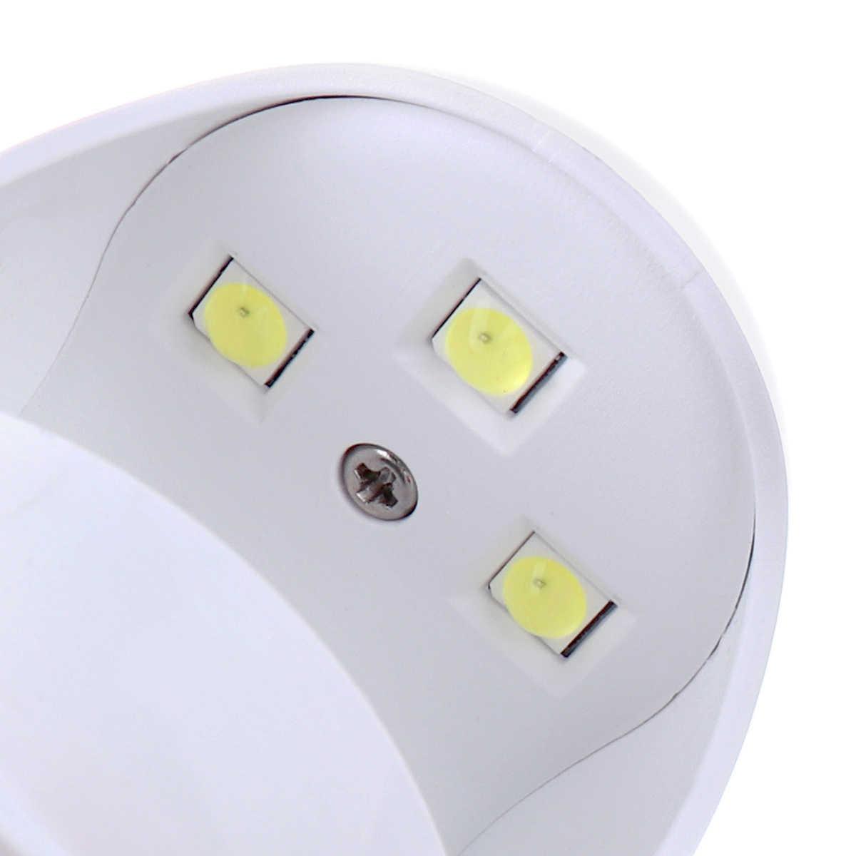 Monja 3W CONDUZIU a Lâmpada UV Da Arte Do Prego Mini Forma de Ovo USB Gel Unha Polonês Máquina de Secagem Secador de Manicure Ferramenta