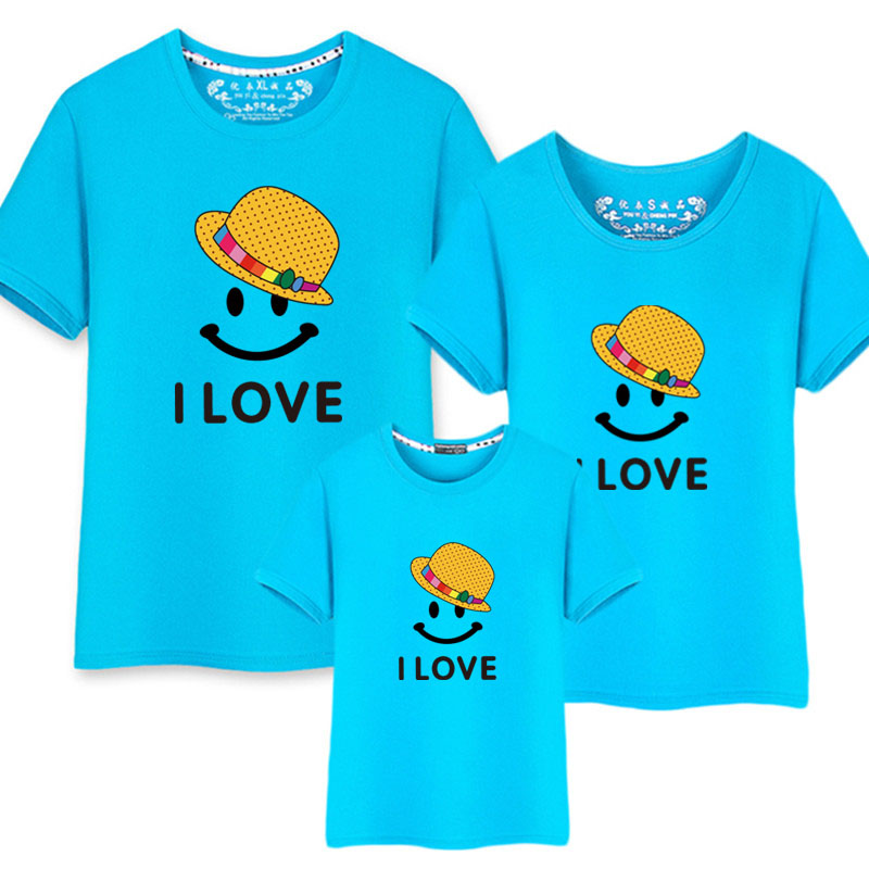 Family Matching Clothing Summer Mother and Daughter Clothes Family Look T-shirt Mother Son Outfits Cotton Dad Son Clothes mother and daughter clothes short sleeved t shirt dresses family matching outfits baby girl clothes girls clothing long dress