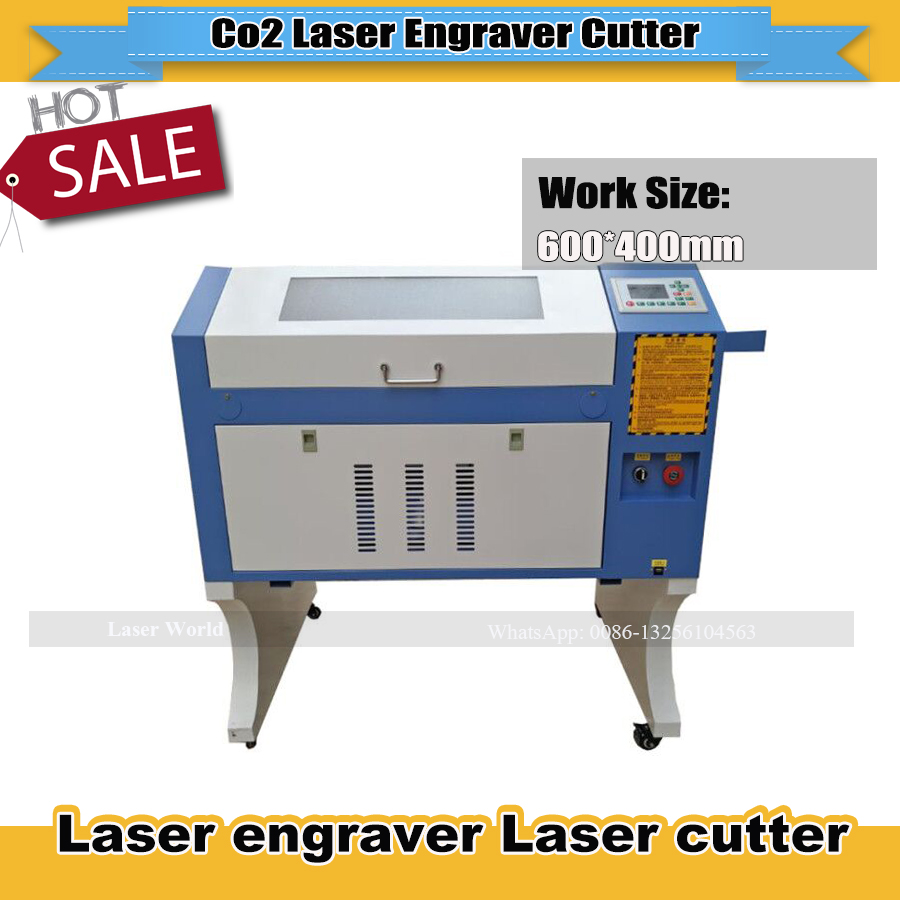 4060 Co2 Laser Engraver Machine 50w/60w/80w Linear Guides Up Down Lift Red Positioning Laser Engraving And Cutting Machine