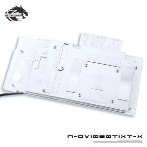 Image 3 - BYKSKI บล็อกน้ำใช้สำหรับ GIGABYTE AORUS GTX 1080Ti Xtreme Edition/GV N108TAORUS 11GD/เต็มรูปแบบกราฟิกการ์ดหม้อน้ำทองแดง