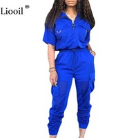 Liooil Neon Green 2 Piece Set Women 2019 Top And Pants Two Piece Outfits Tracksuit High Waist Plus Size Matching Sets Cargo Pant