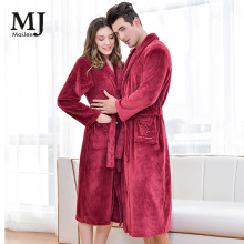 X056 Yukata Men халат пижама Bride Robe пижамы Flannel Couple Pajamas женский Bathrobe Bathro