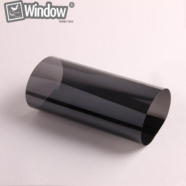 """Black Chrome Automotive Window Films Nano Ceramic Tints 35% 60"""" x 80' /Piece"""