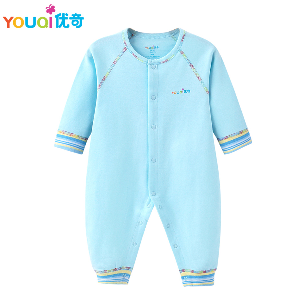 YOUQI Quality Baby Boy Clothes Girl Rompers Unisex Newborn Toddler Infant Costumes 3 6 18M Pajamas Clothing Autumn Baby Clothes unisex newborn baby boy