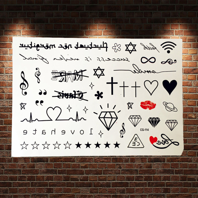 cute children cartoon flash tattoo sticker school acg 114 ecg diamonds small pattern tibet. Black Bedroom Furniture Sets. Home Design Ideas