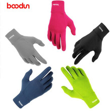 Boodun Winter Touch Screen Cycling Gloves Fleece Thermal Warm Outdoor Sports Bike Full Finger Motorcycle Bicycle