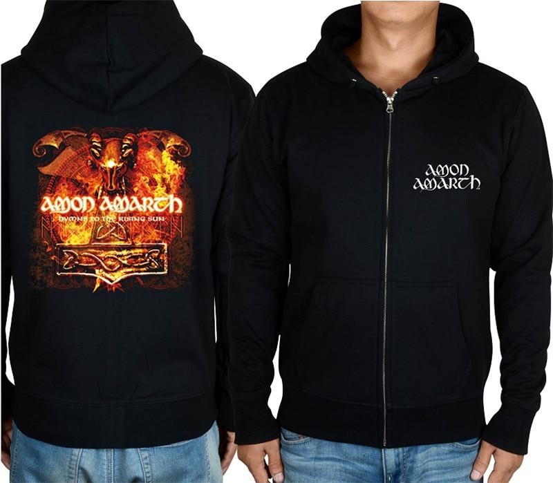 21 конструкции Амон рок молния хлопковые толстовки куртка sudadera панк тяжелый металл 3D череп флис Викинг Толстовка - Цвет: 12
