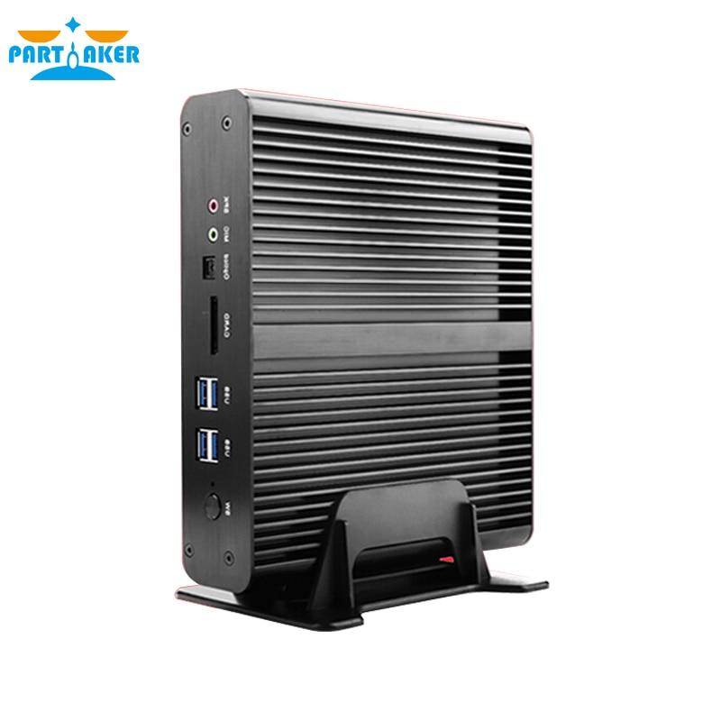 Partaker B2 Fanless Mini PC Windows Linux Intel Core i7 5500u i7 - Мини компютър - Снимка 6