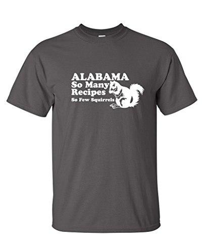 Leqemao Алабама так много рецепты так мало белки Для Мужчинs Винтаж Смешные быдло футболка ...