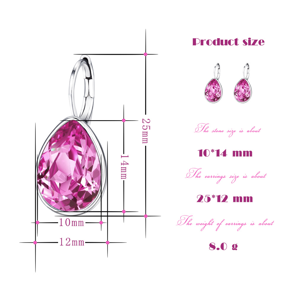 Xuping Charm Kleurrijke Oorbellen Valentijnsdag Valentijnsdag - Mode-sieraden - Foto 2