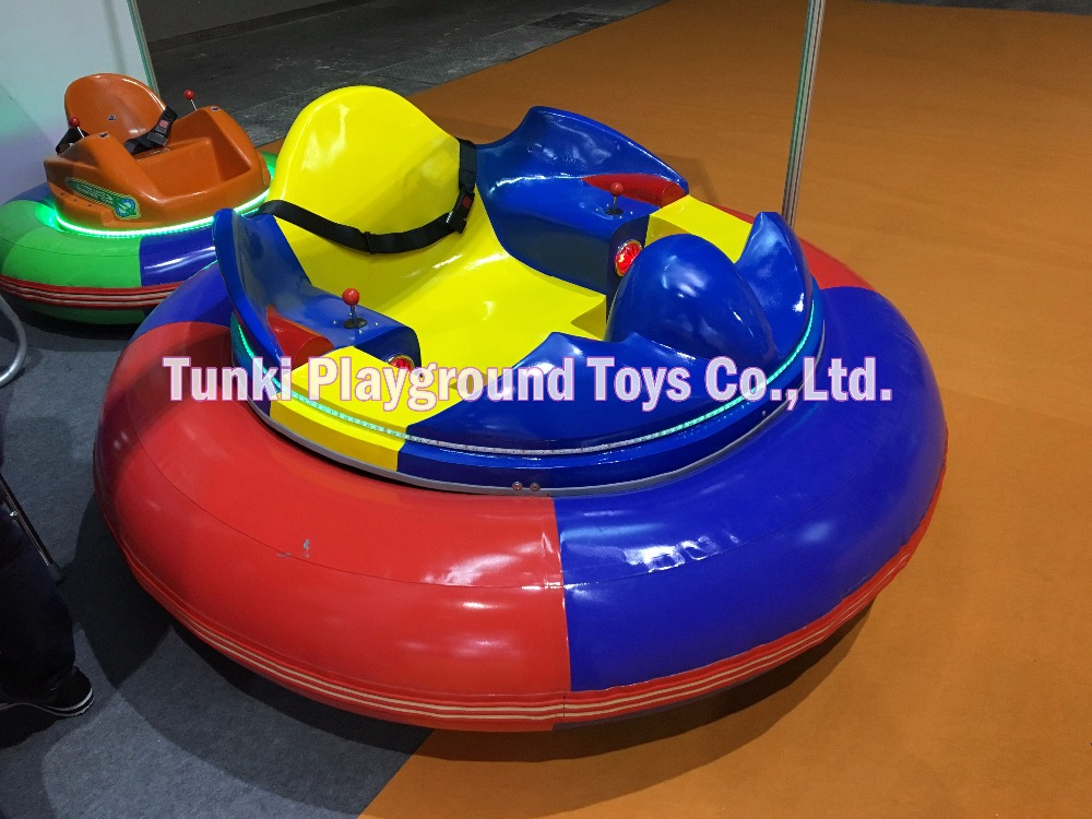 Amusement Ride Rechargeable UFO Bumper Car Price, Indoor Electric Kids Car Battery Bumper Car With Laser