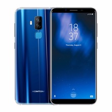 HOMTOM S8 Smartphone 5.7″ HD+ Screen 18:9 Ratio MTK6750T Octa Core 4G RAM 64G ROM 3400mAh 16.0MP+5.0MP Dual Rear Front Cellphone