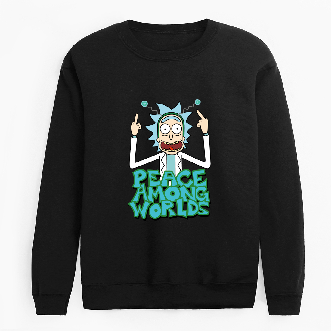 New Design Rick And Morty Mens Hoodies Cotton Funny Print Hoodie Man Fashion Rick Morty Casual Hoodie Sweatshirt Tops 2019 Autum