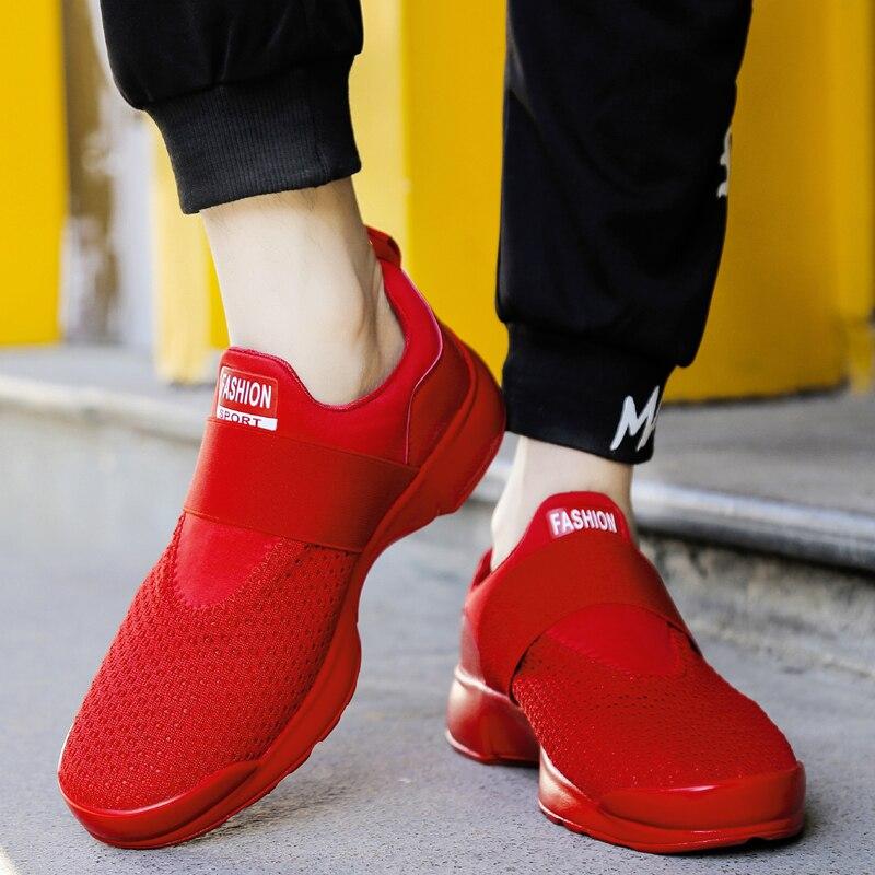 2019 sommer Atmungsaktives Mesh Schuhe Herren Casual Schuhe