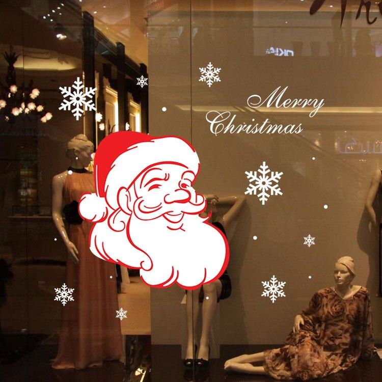 M-61 Feliz Navidad Árbol de Navidad de Regalo de Santa Claus PVC Extraíble Venta