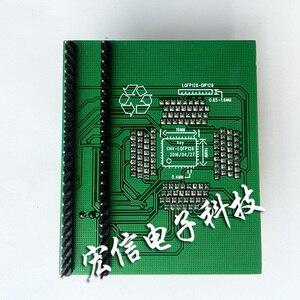 Image 2 - Qfp128ソケットIT8580E IT8586E IT8585 IT8587 ecブートチップアダプタプログラマ128PIN 0.4ミリメートルサポートIT85シリーズブラシ機