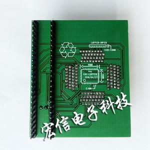 Image 2 - Qfp128 소켓 it8580e it8586e it8585 it8587 ec 부팅 칩 어댑터 프로그래머 128pin 0.4mm 지원 it85 시리즈 브러시 기계