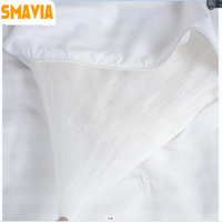SMAVIA Chinese Premium Silk Comforter 100% Cotton Cover Mulberry Silk filled Silk Blanket Spring Summer Autumn Winter Silk Quilt