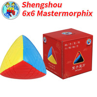 New Arrival of Shengshou 6x6 Mastermorphix Cube Sengso 6x6 Rice Dumpling Stickerless Magic Cube Speed Cube Toys for Children