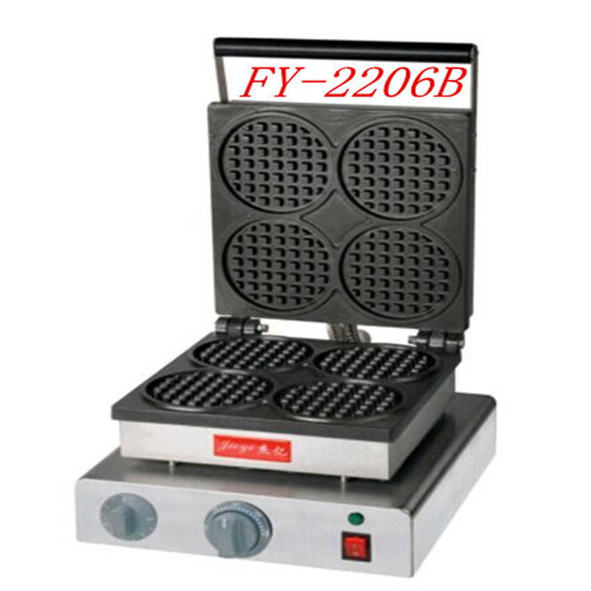 1PC 220V  Single head circular nestle furnace The four-layer muffin machine Circular checkered bread machine nestle 1 2 15g 100