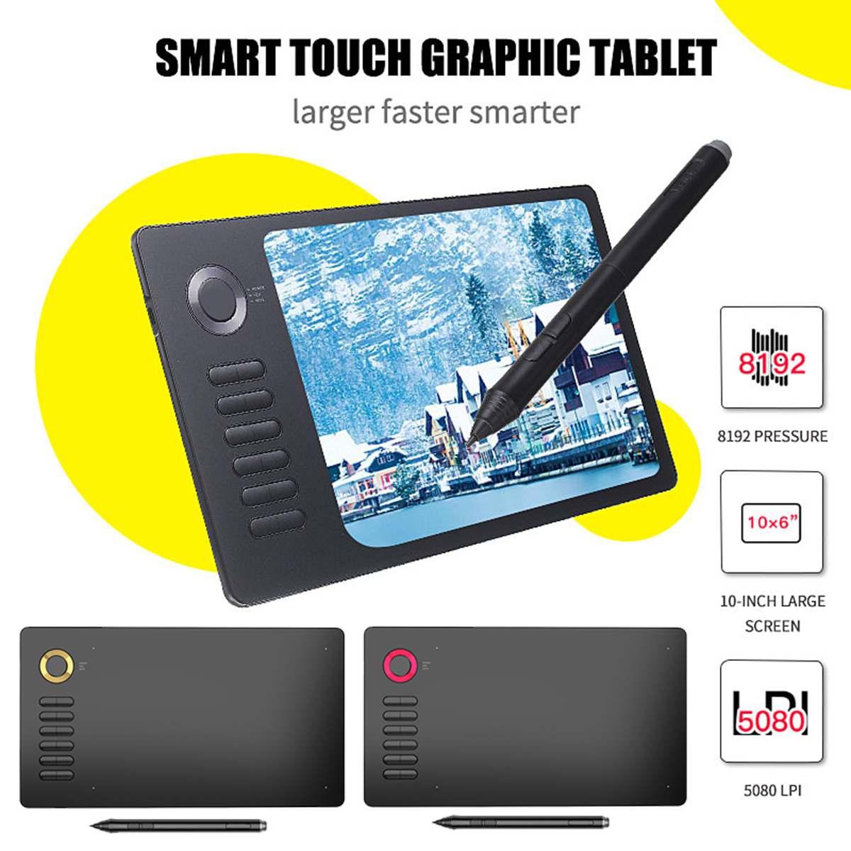 Tablette graphique numérique artiste mince Art pochoir planche à dessin boîte à lumière traçage écriture Pad Portable électronique Table de copie
