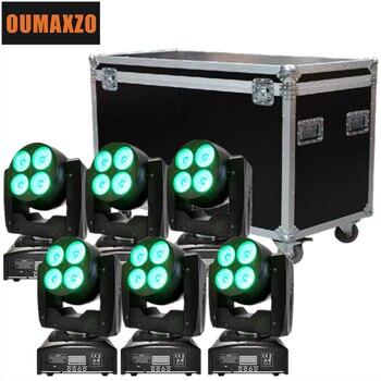 Disco club mini hai-side led 8x15 Wát-trong-RGBW rửa Vô Hạn di chuyển đầu dẫn Studio chiếu sáng hai bên 8 cái 15 wát dmx rgbw rửa