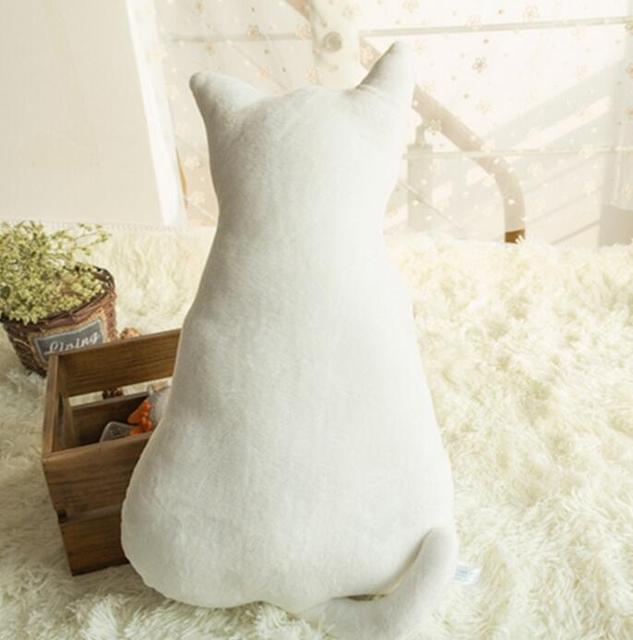 45Cm Super Cute Soft Plush Back Shadow Cat Seat Sofa Pillow