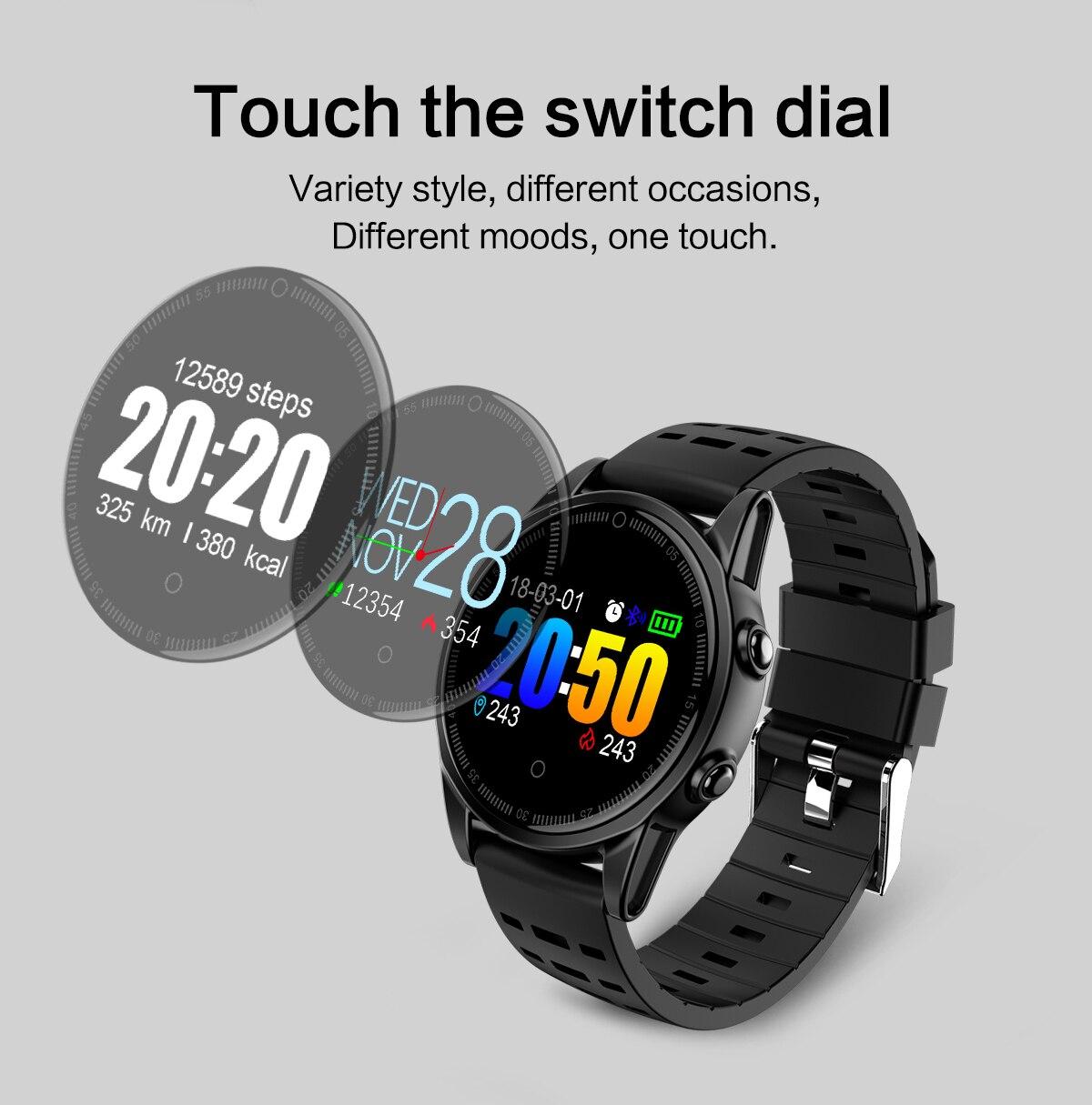 R13 de Remise En Forme Intelligente Bracelet Sport Montre Smart Watch Bande OLED Écran Couleur FIT Moniteur de Fréquence Cardiaque De Massage Intelligent Bracelet Android IOS