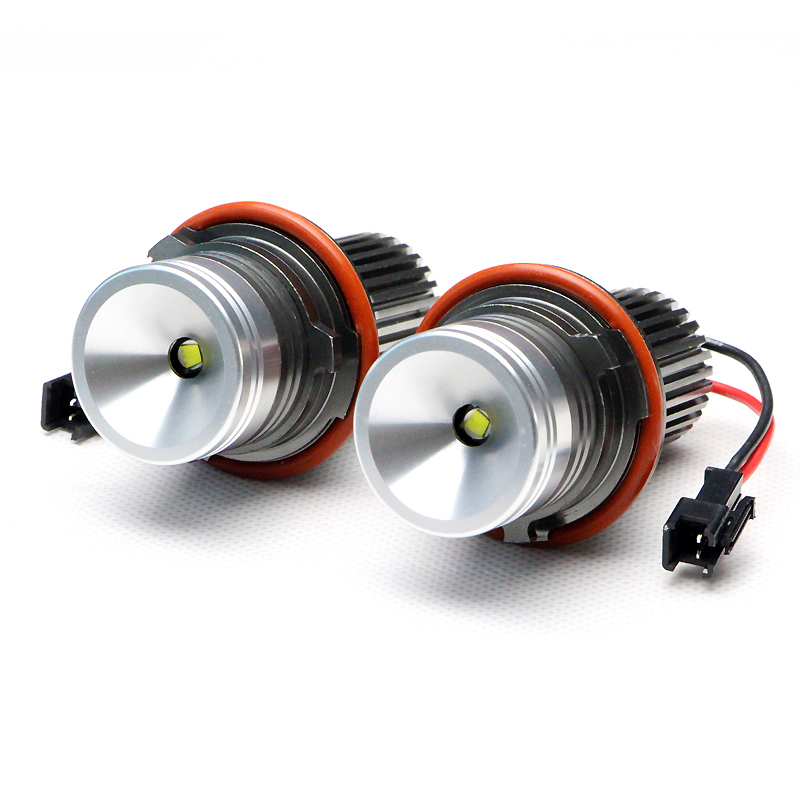 20W High Power 7000K cree Chip LED Marker Angel Eye Light Lamp Halo Rings Bulbs For BMW E39 E60 E63 E64 E53 5 6 7 X5 xenon white hot sell for bmw e39 e64 e60 e66 e83 e87 angel eye halo bulb light 2 7w white cree led