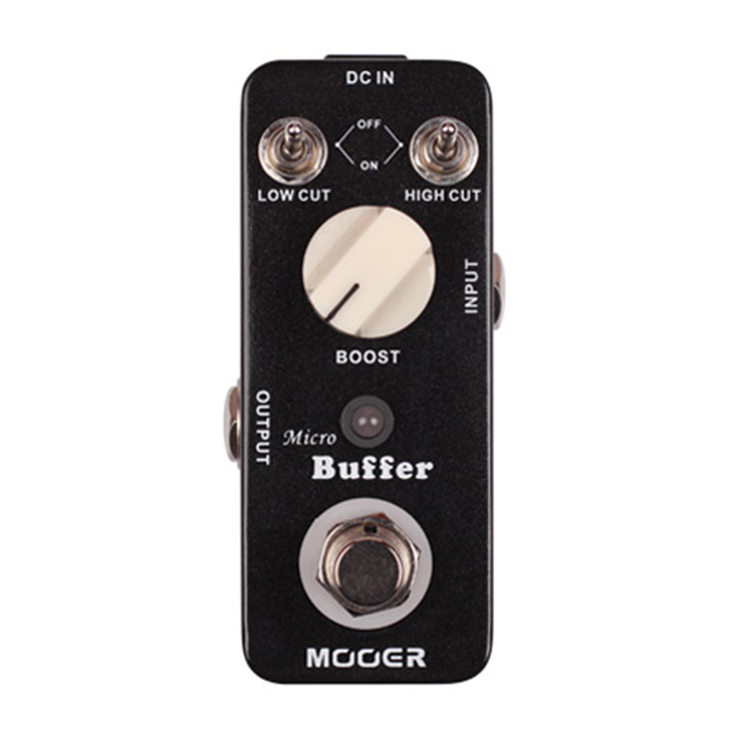 Mooer Micro Buffer Guitar Effect Pedal High Cut Low Cut Switch Boost Knob Buffer Effects mooer ensemble queen bass chorus effects effect pedal true bypass rate knob high quality components depth knob rich sound