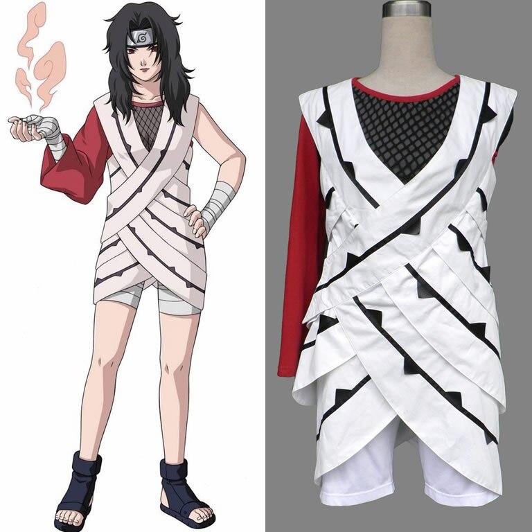 Nohara Yuhi Kurenai Sarutobi Kurenai Cosplay costume Japan Anime Halloween Role Play