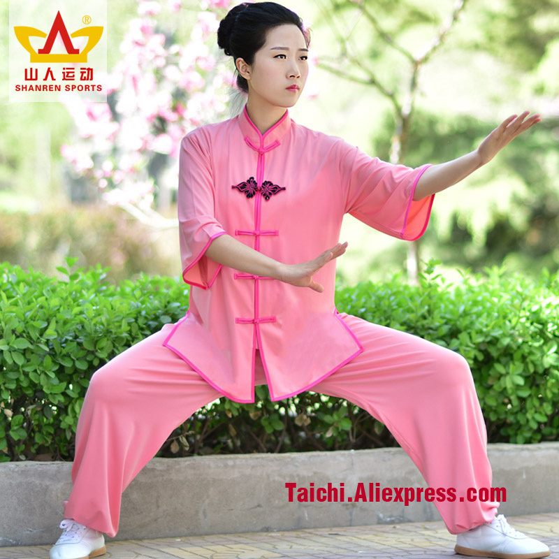 Woman Martial Art Chinese Style Suit Kung Fu Suit Tai Chi Clothing Taiji Wu Shu Unform