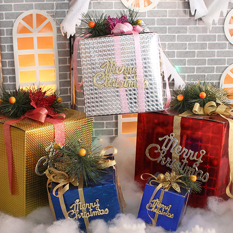 holiday display foldable gifts boxes christmas outdoor christmas decorationp1 - Outdoor Christmas Decorations Gift Boxes