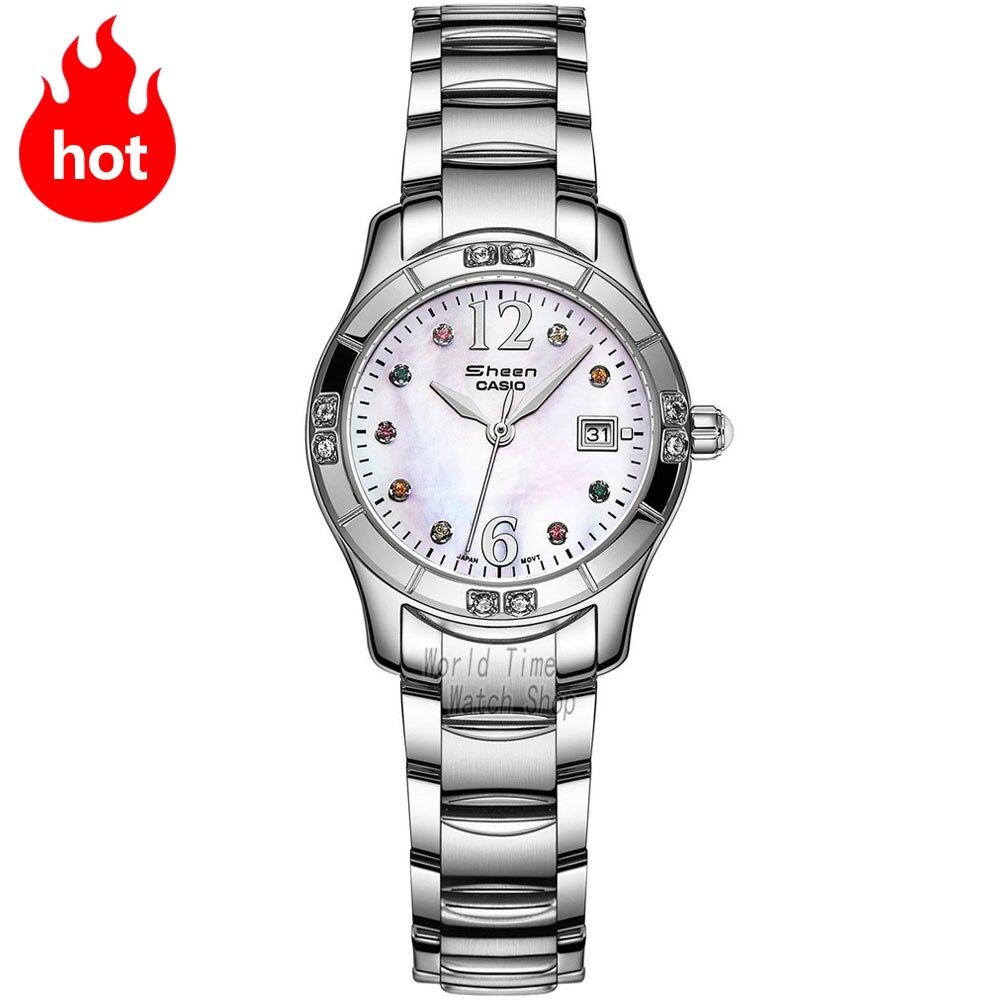 Casio watch Casual business waterproof quartz ladies watch SHN-4019DP-4A SHN-4019DP-7A