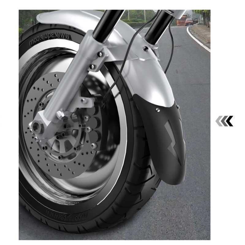Yeni Evrensel Motosiklet Uzatmak Ön Çamurluk Arka andFront Tekerlek Uzatma Çamurluk Çamurluk Splash Guard Motosiklet Için