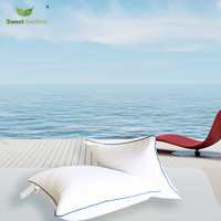 Goose Feather Cushion inserts White 60*60 Pillows 70*70 cm Back cushions core 80*80 square lumbar waist support cotton bolster