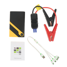 Free gift Car 12000mAh Mini Car Jump Starter Emergency Charger Booster Auto Power Bank Battery LED 1 USB Port For Car Motor