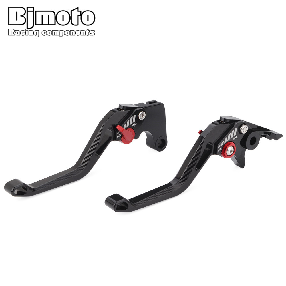 BJMOTO 2018 New Motorbike Brakes Lever CNC Adjustable Brake Clutch Levers For Ducati MONSTER 1200 S 899 959 Panigale H2/H2R bjmoto motorcycle adjustable cnc aluminum brakes clutch levers set motorbike brake for kawasaki z800 e version 2013 2016