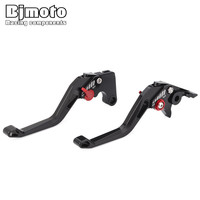 BJMOTO 2018 New Motorbike Brakes Lever CNC Adjustable Brake Clutch Levers For Ducati MONSTER 1200 S 899 959 Panigale H2/H2R