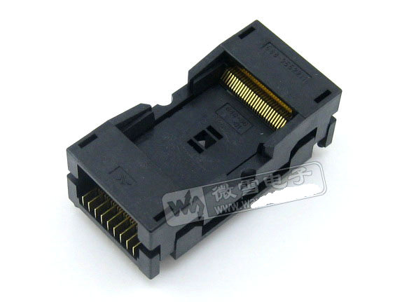 Free shipping 100% NEW WELLS-CTI 648-0562211 TSOP56 IC Test Socket / Programmer Adapter / Burn-in Socket (648-0562211-A01) free shipping 100% new original 5pcs lot mt29f64g08cbaaawp a mt 29f64g08cbaaa wp a ic flash 64gbit tsop 48