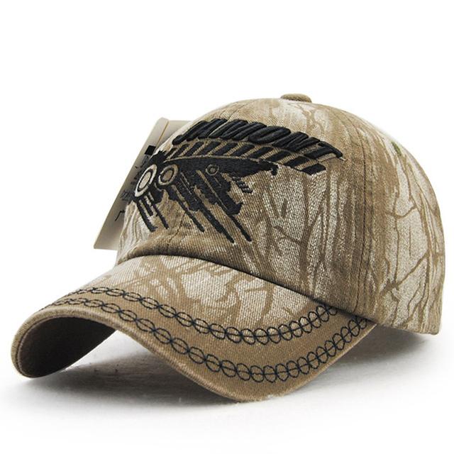 Nova Moda Boné de Beisebol Tampões para Os Homens Do Exército 2017 Lavado Tampas Carta Bordados Casual chapéus Adulto 58 cm Cowboy osso feminino
