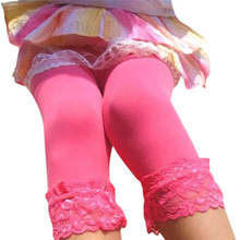 Sweet Girl's Lace Velvet Leggings Ballet Bottom Leggings  Pantyhose Stocking 12 Colors for choice LL8