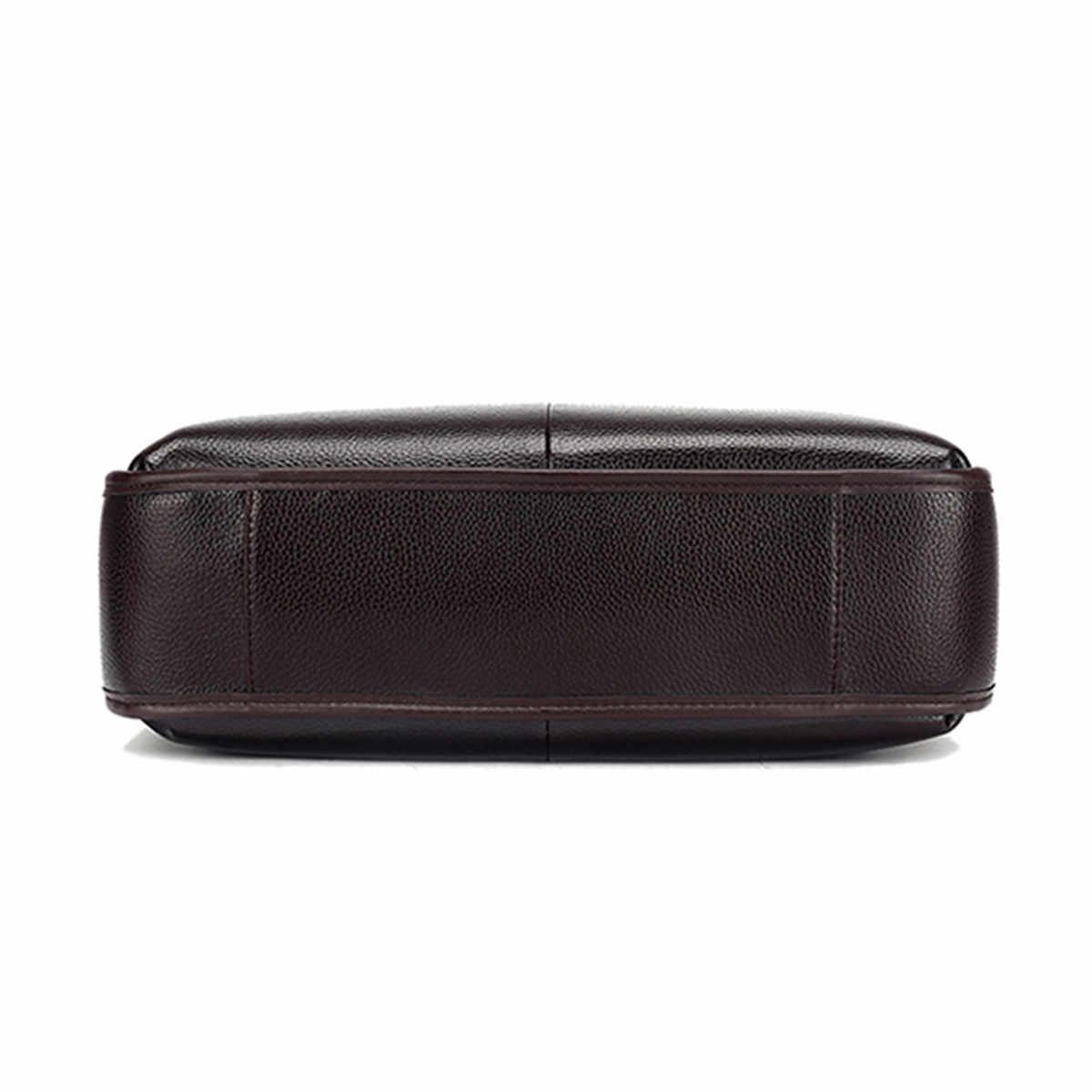 Osmond, мужские сумки из натуральной кожи, повседневные кожаные сумки для ноутбука, мужские деловые дорожные сумки-мессенджеры, мужские сумки через плечо