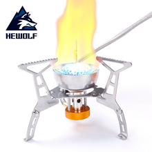Outdoor Gas Stove Camping Gas burner Folding Camping  Stove hiking Burner Cooking Picnic  Portable Foldable Split Stoves стоимость