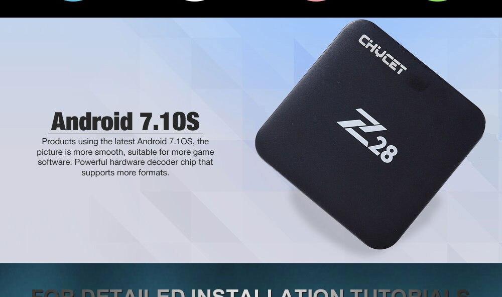 Chycet Newest Z28 3G 32G 3G 64G Android 7.1 TV Box Chycet Newest Z28 3G 32G 3G 64G Android 7.1 TV Box HTB1anaCdRUSMeJjy1zkq6yWmpXaC