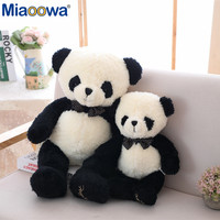 1pc 60/80cm Cute Panda Plush Toy Soft And Comfortable With A Bow Tie Decoration As A Pillow Toy For Children As Gifts