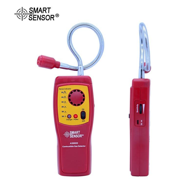 Analysatoren Digita Brennbaren Gas Analyzer Hand-gehalten Port Brennbare Gas Leck Detektor Gas Detektor Digitalen Gas Analyzer Mit Batterie As8800 QualitäT Zuerst Werkzeuge