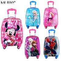 Детский Чемодан детский Дорожный чемодан на колесиках чемодан с колесами для детей чемодан на колесиках детские сумки для путешествия чехо...