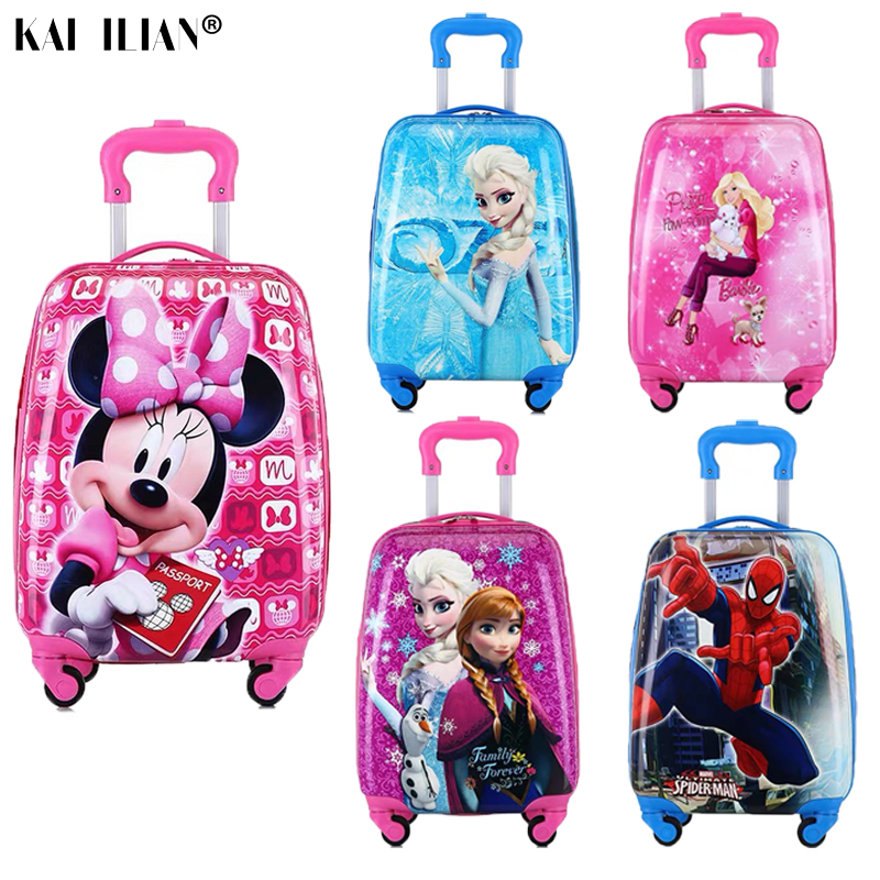 Maleta para niños, maleta con ruedas, maleta para niños