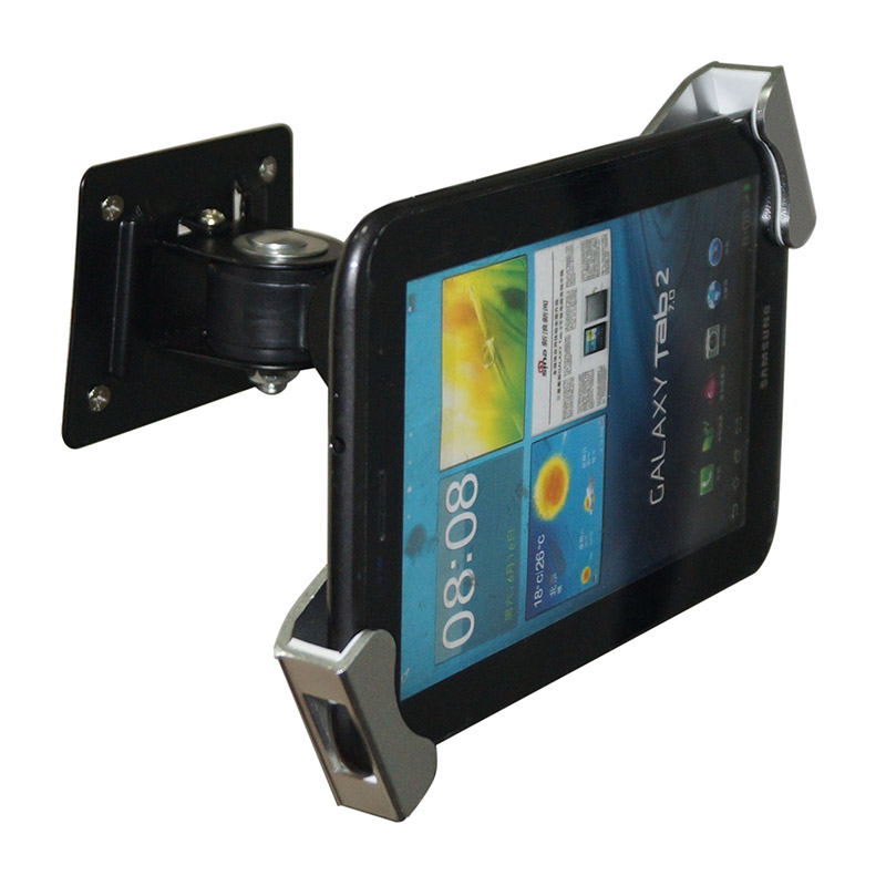 Metal Ipad Security Stand Case Flexible Tablet Wall Desk